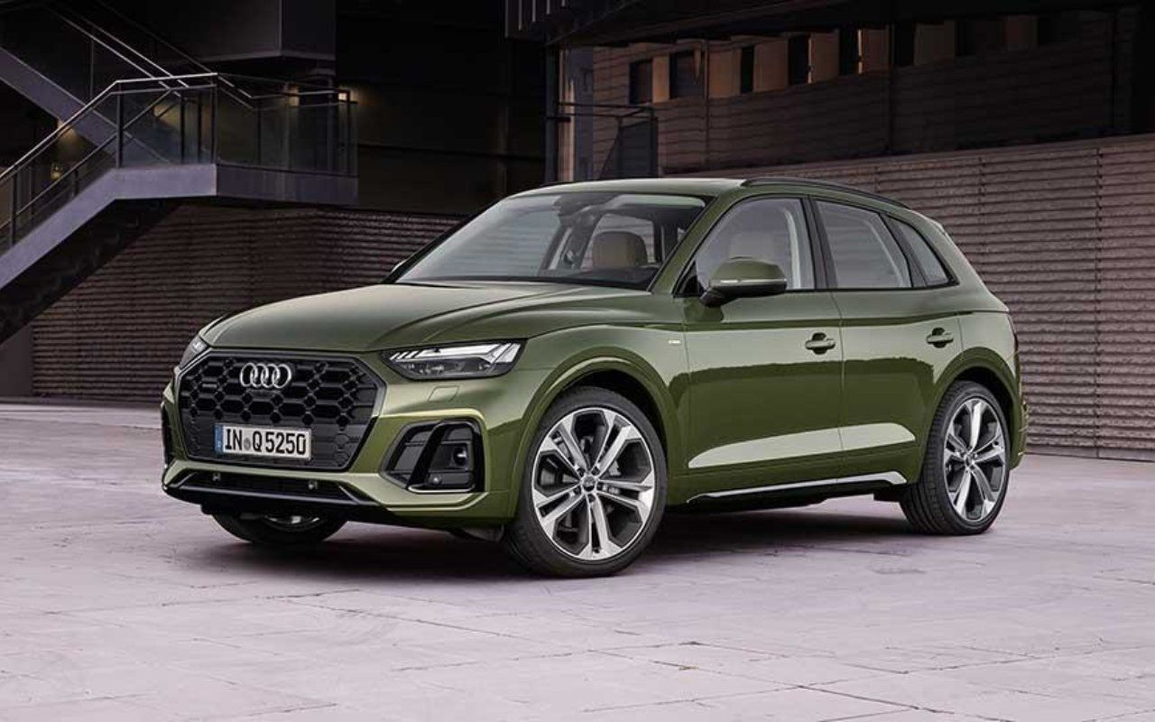 Audi unveils its new-look Q5