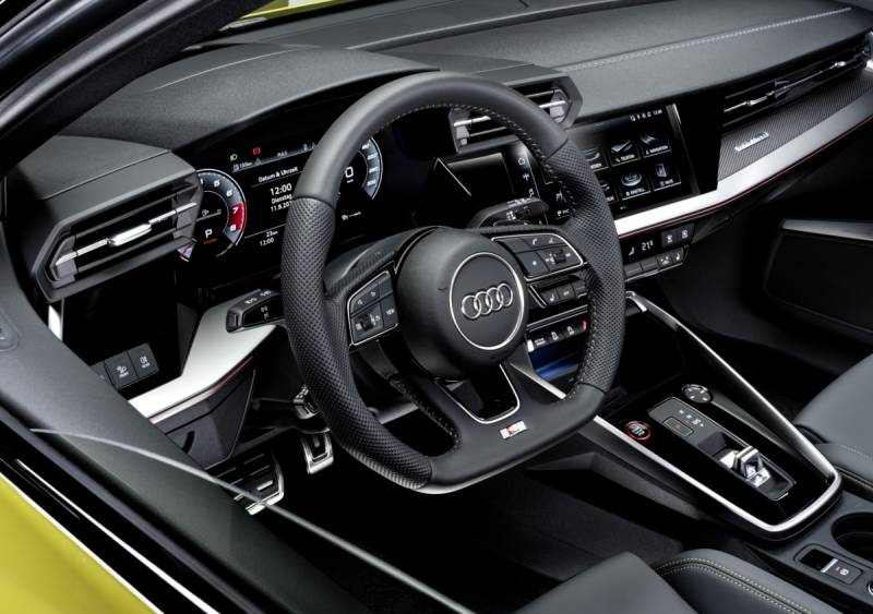Audi S3 connectivity