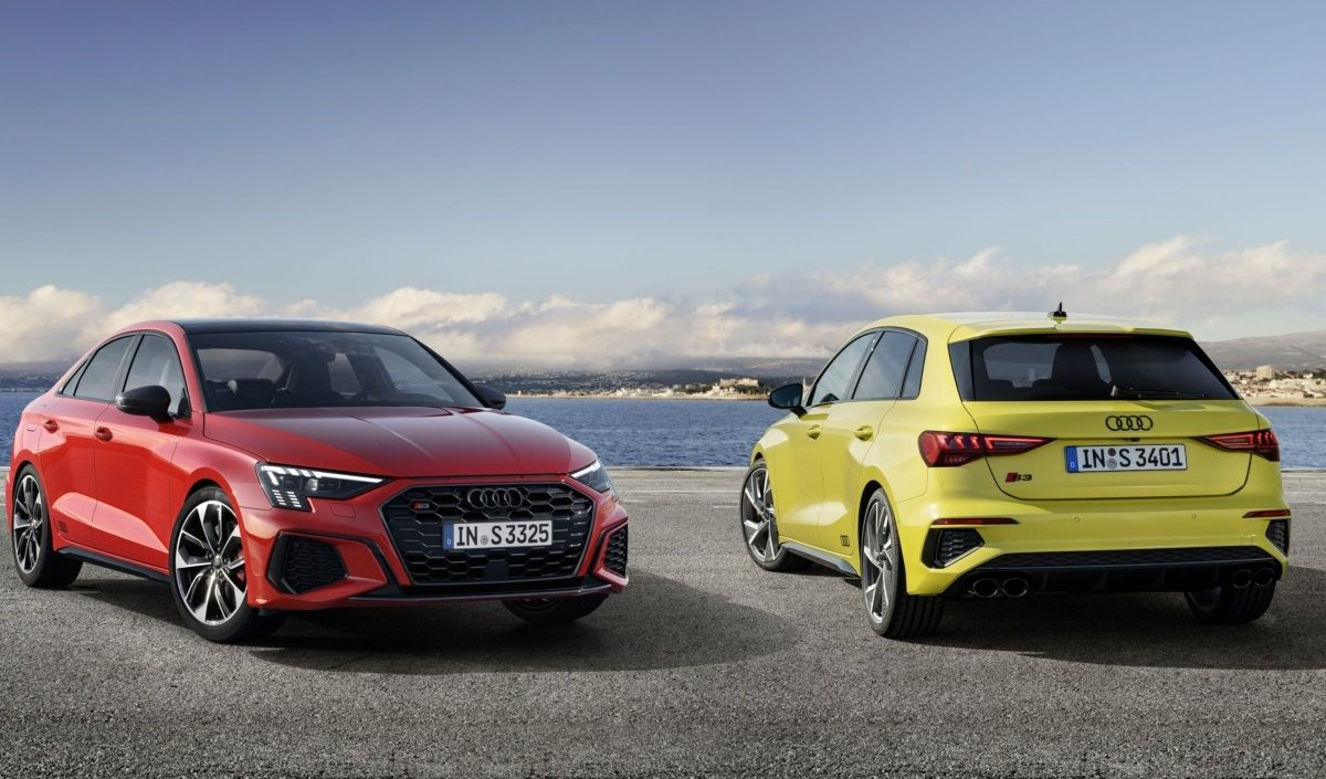 For the marathon and the sprint: The new Audi S3 Sportback and S3 Saloon